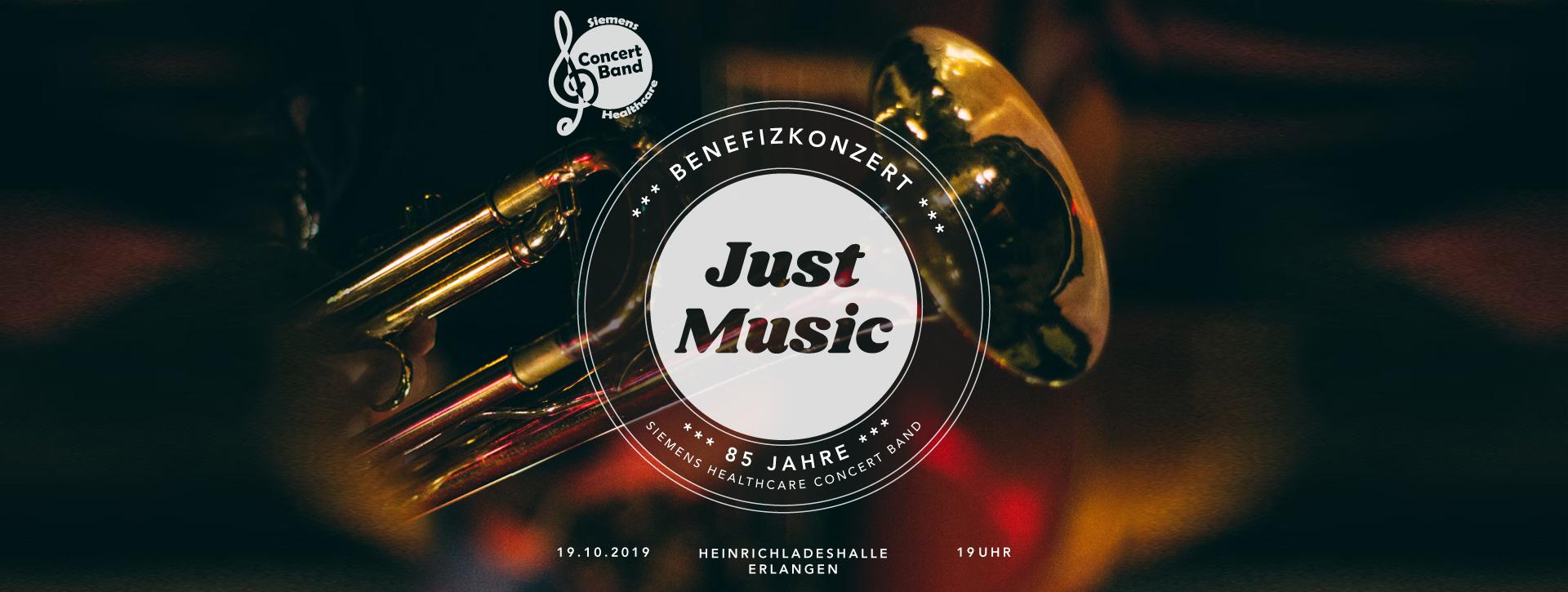 Benefizkonzert - Just Musik - Heinrich-Lades-Halle